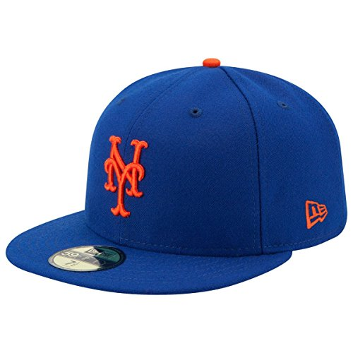 New Era New York Mets Authentic 59FIFTY Fitted MLB Cap Game f48cf5dd9b1