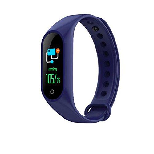 BEESCLOVER Smart-Armband mit Herzfrequenz-Blutdruckmessgerät, Fitness-Tracker, Geschenk