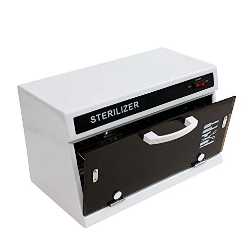 9L Handtuchwärmer UV-Sterilisator Desinfektion Warmwasserbereiter Schrank mit 2 Schaltern Gesichtspflege Schönheit Instrument Werkzeug Desinfektion Spezial Desinfektionsschrank Verwendung für SPA H (Instrument Sterilisator)