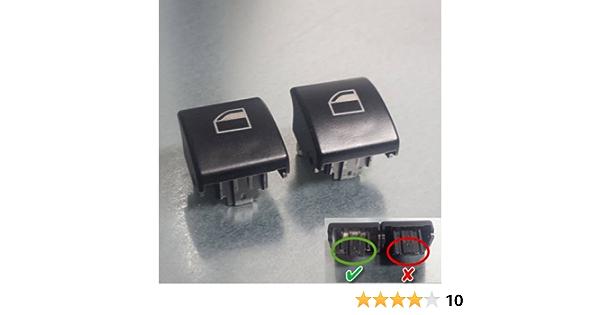 2 Stück Fensterheber Schalter Taster Fensterheberschalter Taste Für 3er E46 Auto