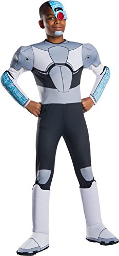 (Rubie's Teen Titans Cyborg Child Fancy Dress Costume Medium)