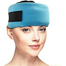 Dynamik prodotti–emicrania raffreddamento testa Wrap–Sinus, tensione Headache