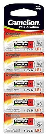 Camelion 11000501 - Plus Alkaline, N / LR1 / Lady, 5er (Lr1 Akku)