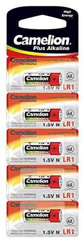 Camelion 11000501 Plus Alkaline, N/LR1, Lady, 5er-Pack