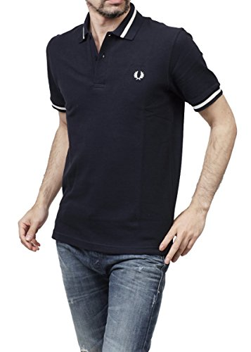 FRED PERRY - Herren Polo Slim Fit M2 Blau (403 Midnight)