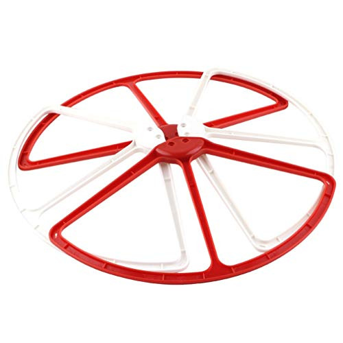 TataYang DJIP2PRG Propellerschutz (4er Satz) für Phantom 2 Vision/Vision+ UAV Aerial Quadrocopter Drohne weiß rot (Vision 2 Guard Phantom)