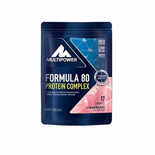 Multipower Formula 80 Evolution, 4 x 510g, Heidelbeer-Joghurt -