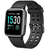 YAMAY Montre Connectée Femmes Homme Montre Intelligente Android iOS Smartwatch Vibrante Bracelet...