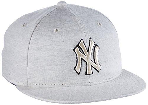 New Era Herren Cap MLB Jersey Fitted New York Yankees stone