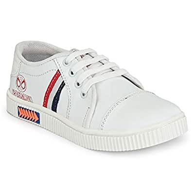 Big Fox Kids Sneakers for Boys, White