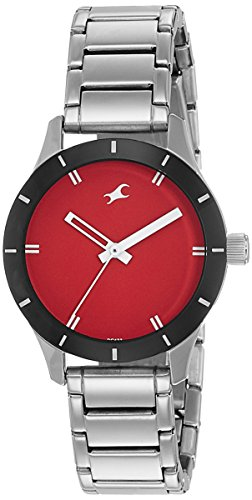 Fastrack Analog Red Dial Women's Watch-6078SM05 image