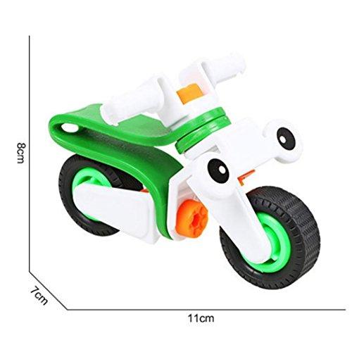 QUINTRA DIY Phantasie Bauklötze Cartoon Car Building Kit Spielzeug (Diy Kostüme Kleinkind)