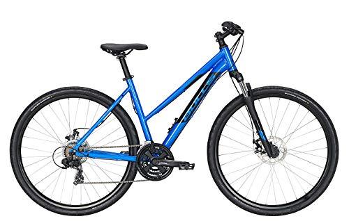 Bulls Wildcross Cross-Bike blau - Damen Fahrrad 28 Zoll - 21-Gang Kettenschaltung
