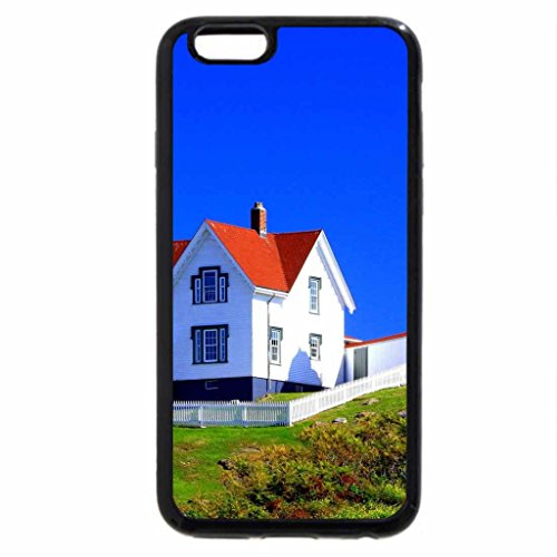 iPhone 6S / iPhone 6 Case (Black) Maine Lighthouses