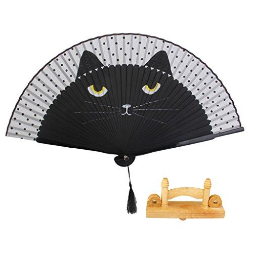 magideal-pintado-a-mano-gato-bambu-de-verano-plegable-japones-de-seda-pintado-a-mano-ventilador-sopo
