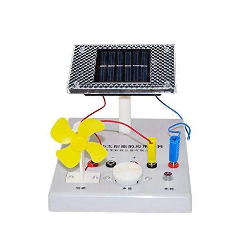 BIUYYY Physikalische Optik Laborgeräte - Solarenergie Anwendung Lehrmittel Für Materialwissenschaft Und -Bildung