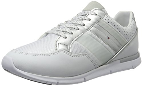 Tommy Hilfiger S1285kye 14c1, Sneakers Basses Femme Blanc (White 100)