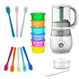 Philips Avent Easypappa 4-in-1 & NIP Beikoststart Set // neues Model SCF 885/01 Dampfgaren + Mixen + Aufwärmen + Auftauen von selbstgemachten Gerichten
