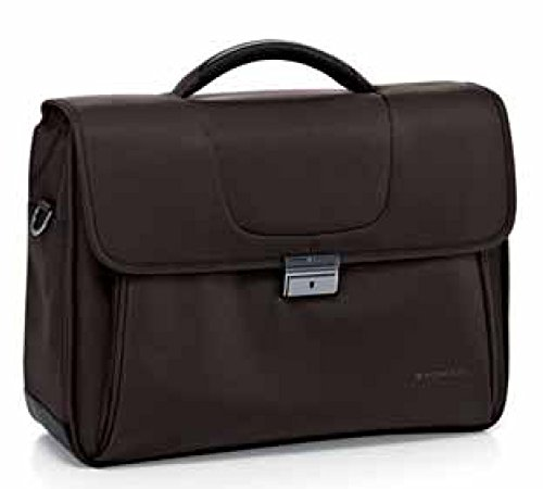 "Roncato Linea Clio Cartella 3 comp. , Porta PC 15.6"" /tablet art 412251 marrone, 43x31x18 cm"