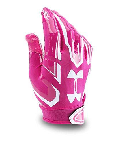 Pee Wee F5Fußball Handschuhe, Jungen, Tropic Pink/White/White ()