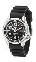 Army Watch Sport by Eichmüller–Reloj de Buceo con correa de PU 50atm (500m resistente al agua) ep854 de Eichmüller