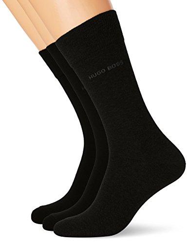 BOSS Herren Socken Threepack RS SP Schwarz (Black 001) 47/50