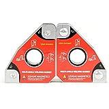 ehind 2pcs imán para Soldadura positionneur magnético, imanes de Soldadura Multi-Angles 30 °