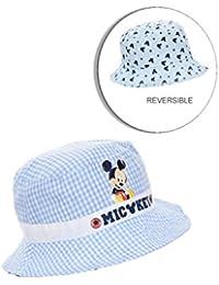 8d3a97393569 Chapeau - Bob reversible bébé garçon Mickey Bleu et Marine ...
