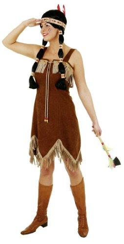 Supersexy Indianerin Kleid ()