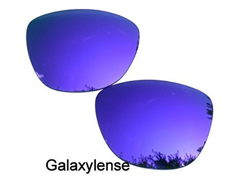 Galaxy Wechselgläser für Oakley OO9013(Haut-Frosch) violett Farbe Polarisiert, Violett, Frogskins