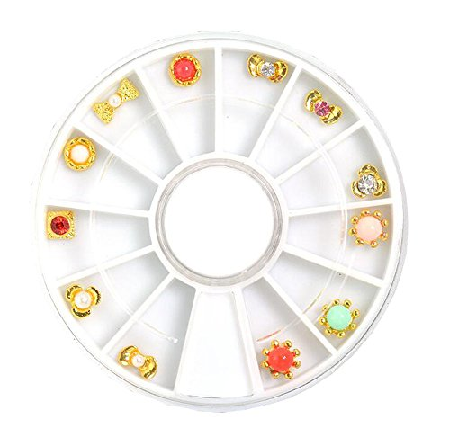 Roue strass nail art decoration décorations ongles