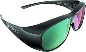 Lunettes INFICOLOR 3D. Les seules lunettes 3D compatibles avec les jeux: Batman: Arkham City et Assassin's Creed Revelations sur les TVHD !