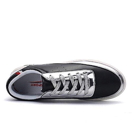 Hombres Zapatillas Moda Ocio Formación Zapatos deportivos Zapatos planos Black