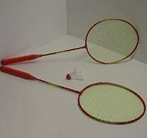 Federball Set, Badminton Set, 2 Schläger, 1 Ball, Starter-SET (LHS)