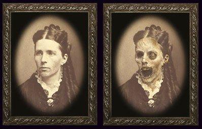 Cultica(R) Halloween Bild Verwandlungsbild Horror Galerie des Grauens 19