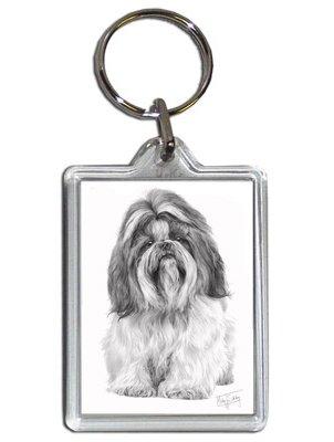 Mike Sibley Shih Tzu Hund Schlüsselanhänger