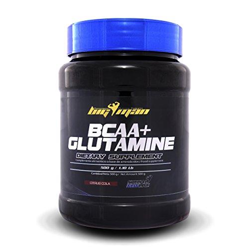 Big Man BCAA + Glutamina - 500 gr Citrus Miel/Citrus Honey