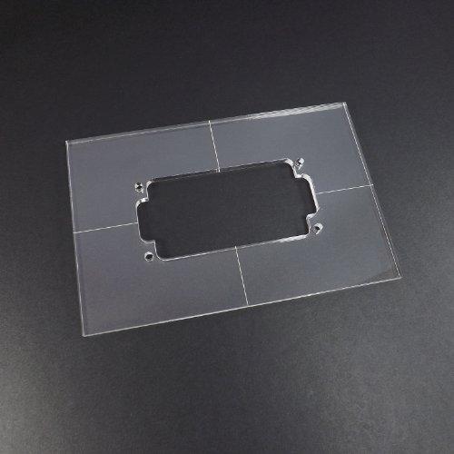 acrylic-humbucker-router-template
