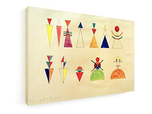Wassily Kandinsky - Bilder einer Ausstellung, Zahlen, Bild XVI - 45x30 cm - Leinwandbild auf Keilrahmen - Wand-Bild - Kunst, Gemälde, Foto, Bild auf Leinwand - Alte Meister / Museum