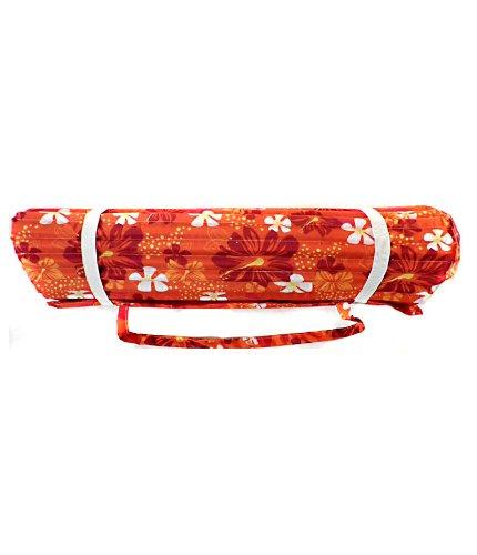 Preisvergleich Produktbild Strandmatte, Polyester mit Foam, Blumenmuster