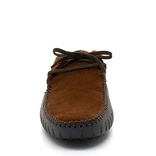 London Footwear , Sandales Compensées homme Marron