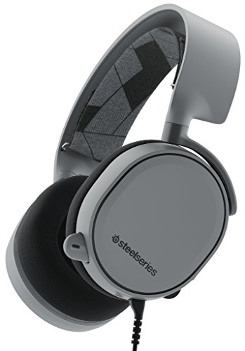 SteelSeries Arctis 3 [Legacy Edition], Gaming-Headset, PC / Mac / PlayStation 4 / Xbox One / Nintendo Switch / Mobilgerät / VR, Farbe slate grey