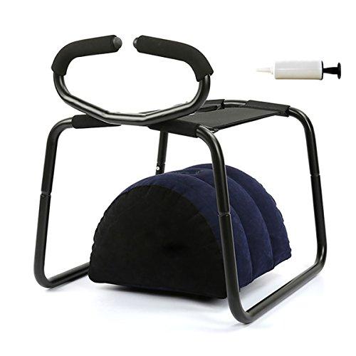 Risunpet Multifunktions-Sex-Stuhl-aufblasbares Positionskissen-Kissen-Sofa-Möbel für Liebes-Paare mit aufblasender Pumpe