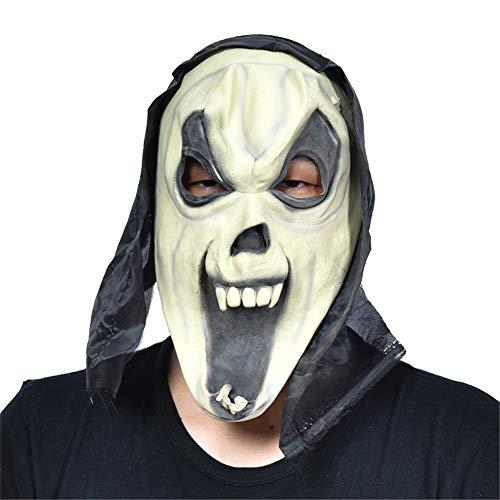 wsjwj Masken für Erwachsene Halloween Großhandel Requisiten Maskerade Latex Maske Horror Maske, Latex Schrei Spielzeug