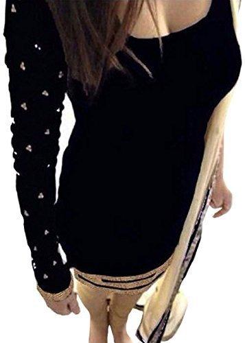 vaankosh fashion black velvet designer partywear dress material with dupatta