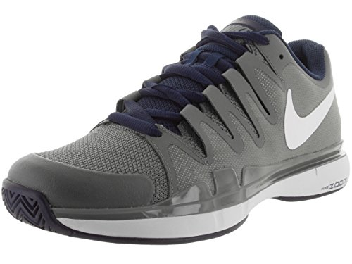 Nike Nike Zoom Vapor 9.5 Tour, Chaussures de sport homme Gris / Blanco / Azul (Tmbld Gry / Wht-Mdnght Nvy-Phntm)