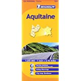 Aquitaine Michelin Regional Map (Michelin Regional Maps)