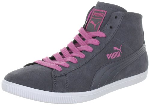 Puma Glyde Mid Wn's 354049, Damen Klassische Sneakers, Grau (steel grey-chateau rose 02), EU 36 (UK 3.5) (US 6) (Rose 3.5-basketball-schuhe)