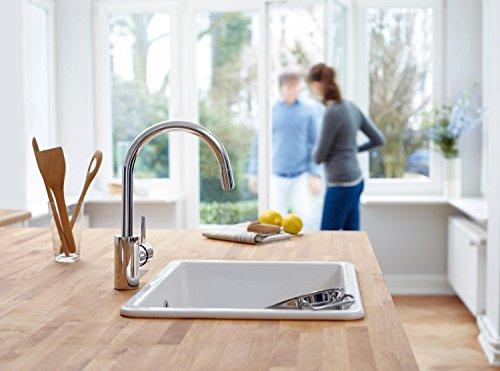 Grohe - Concetto Küchenarmatur, hoher Auslauf, Schwenkbereich 360 ...