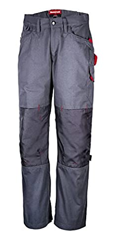 Honeywell 4002302-M/42L - HLine Durable and Comfortable Trousers - Grey - Size M/42L